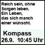 Kompass 26. September 10:45