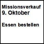 Missionsverkauf  9. Oktober